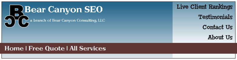 Bear Canyon SEO-Search Engine Positioning Services
